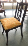 1940's Chinoiserie Fretwork Pagoda Chair