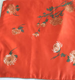 Large New, Red Silk Pillow - Studio lane at Reposed NY Vintage Home Decor