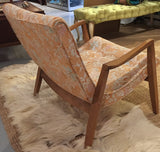 Mid Century Milo Baughman, James Seating Scoop Lounge Chair