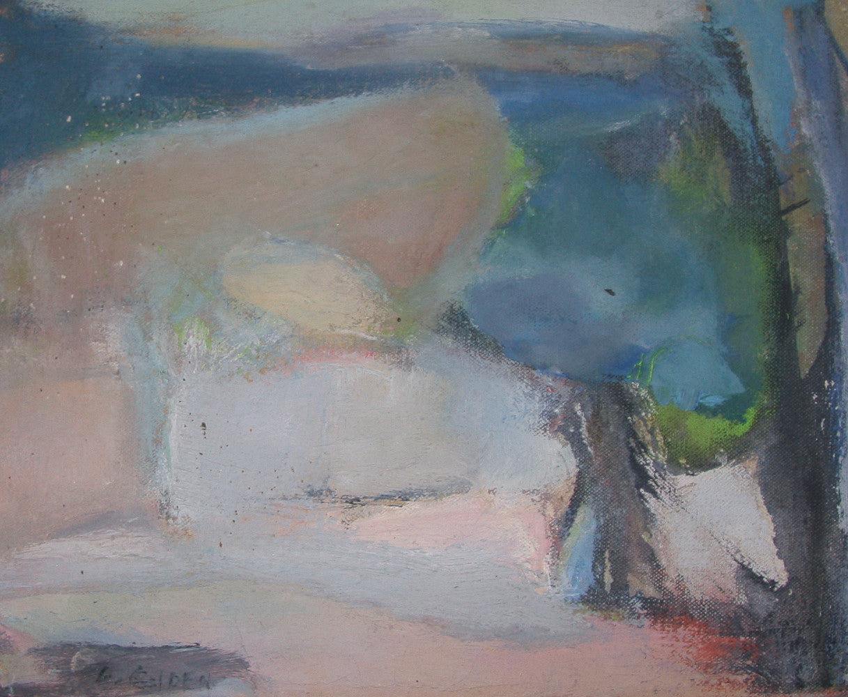 Oil on Canvas - Listed Artist Eunice Golden 1964