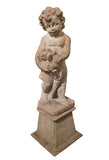 Antique Garden Statue - Small Boy