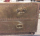 Brass Trunk with Rivets - Coffee Table