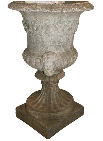 Antique cement Urn