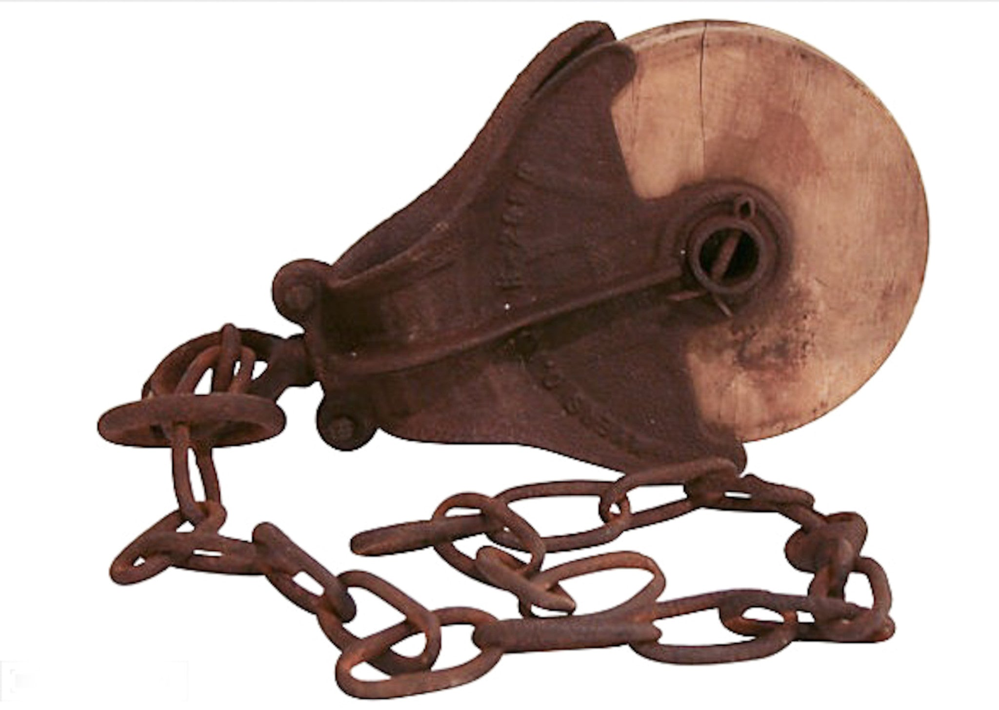 Antique Farm Pulley
