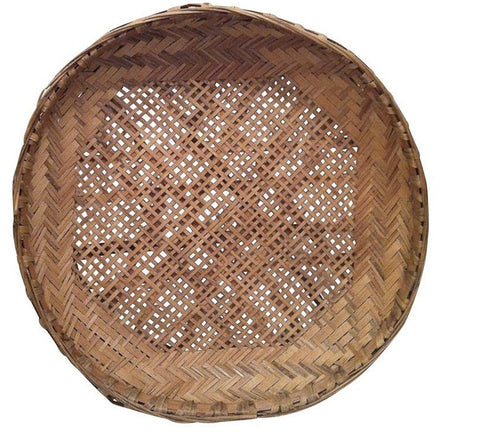 Vintage Basket Dish - Wall Decor or Tabletop