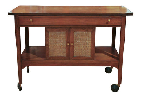 Mid century tea cart - server