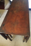 Antique Gate Leg Dining Table, Console Table