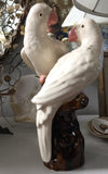 Vintage Bird on a Branch Statue, Figurine