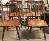 Set of 4, Russel Wright for Conant Ball Chairs