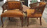 Pair, Early Mid Century French Provincial Chairs