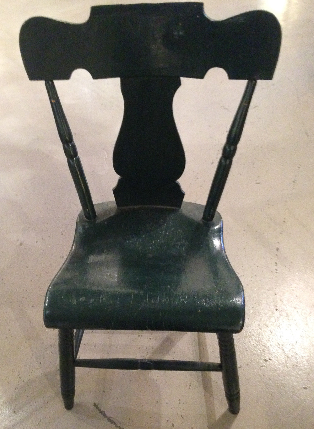 S/6 Antique Primitive Side Chairs - Assorted