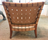 Mid Century Webbed Chair