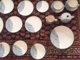 34 piece Set - Ucago Gray Bamboo Dinner Service