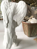 Large Vintage Italian Ceramic Bird Statues - A Pair