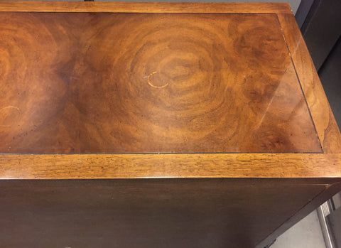 Mid Century Signed Drexel Heritage Campaign Chest of Drawers