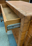 Pair, Bielecky Brothers Cabinet Consoles, Billy Baldwin, Signed