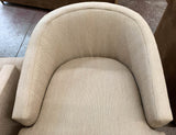 Mid Century Drexel Heritage Swivel Chairs, Signed