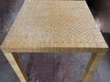 Bielecky Rattan Basket Weave Dining Table