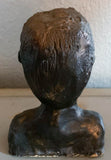 Vintage Sculpture - Bust of a Man With an Entrance