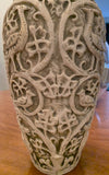 Large Antique Czech Johann Maresch Vase, Signed