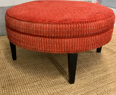Prime Large Mid Century Ottoman Signed Reposed Ny Vintage And Machost Co Dining Chair Design Ideas Machostcouk