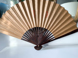 Large, Old Asian Painted Fan