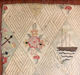 Antique Folk Art, Americana Rug