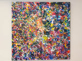 Large Modern Abstract Painting
