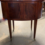Antique French Style Oval Side Table