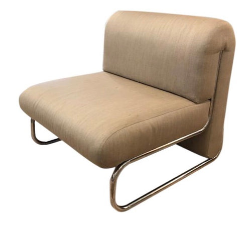 Mid Century Signed, Edward Axel Roffman Lounge Chair