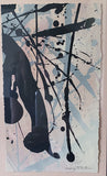 Abstract Painting - Splatter, Signed