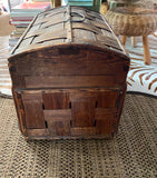 Antique Woven Basket - Pigeon Basket