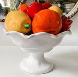 Vintage Ceramic Fruit and Veggie Display Bowl