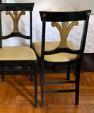 Pair, Mid Century, Folding Neoclassical Style Chairs