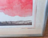 Mid Century Original Artwork by Listed Artist Alec Cowan, Laguna Channel