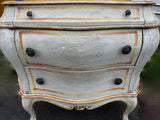 Vintage French Bombay Chest of Drawers