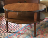 Mid Century Side, Coffee Table, Signed H W Pollack NY NY