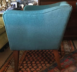 Mid Century Blue Chairs - A Pair