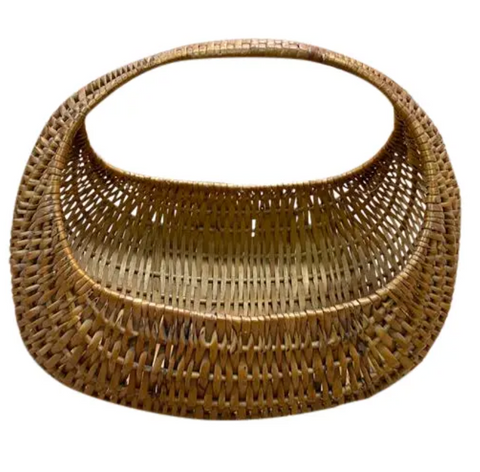 Vintage Basket - Unusual Shape