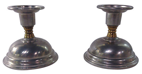 Pair of vintage Candlestick Holders