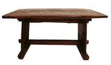 Antique Wood Trestle Table