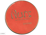 "1940's Nut Tin ""Nutz"" with Asian Letters"