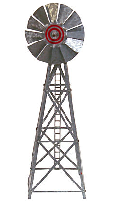 Vintage Metal Wind Mill