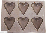 Vintage Hearts Chocolate Mold
