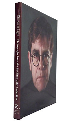 Vintage Elton John Chorus of Light Book