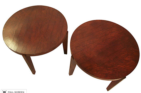 Pair, Mid Century Side Tables