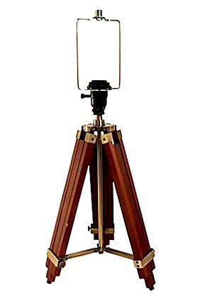 Tri Pod Lamp with Telescoping Legs