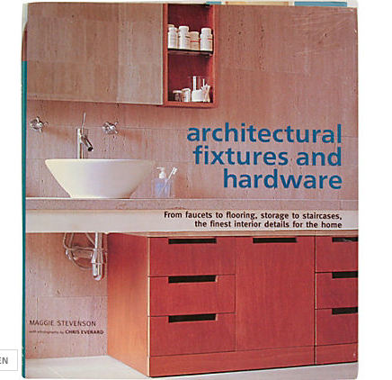 Vintage Book, Architectural Fixtures and Hardware