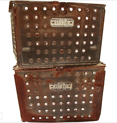 Antique Metal Baskets