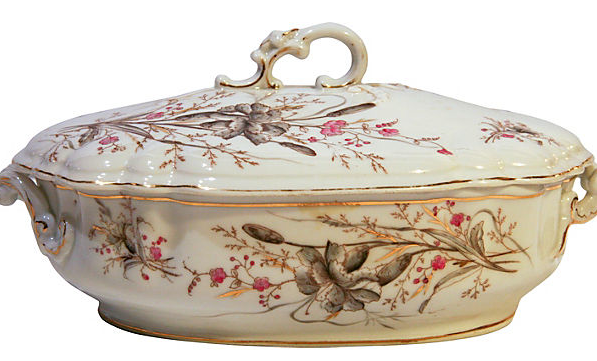 Covered Serving Dish, Guther Carlsbag